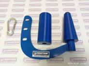 Ручка для армрестлинга СИЛАРУКОВ с двумя насадками (конус и цилиндр)