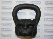 Гиря КОТИК 8 кг от компании BruttoBells (Россия)