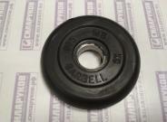 Диск Barbell Atlet обрезиненный 0,75 кг 26мм