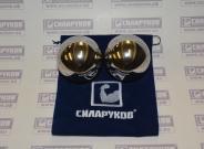 Шары ловкости СИЛАРУКОВ (Набор из 2-х шаров).Диаметр: 60 мм. Вес: 1760гр.