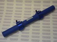Гриф гантельный диаметром 50 мм от компании СИЛАРУКОВ с замками.